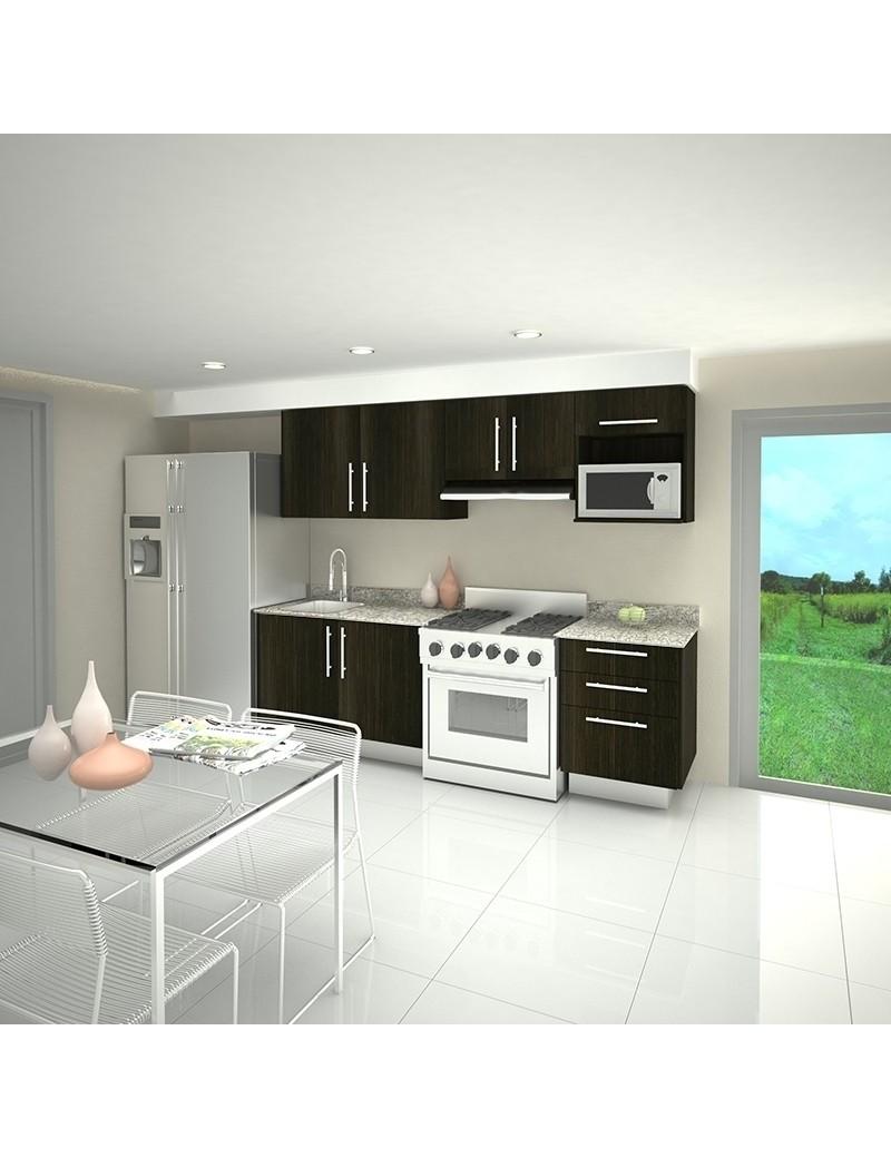 Mobiliario de Cocina lineal Moderna de Euromobilia EUROMOBILIA mod...