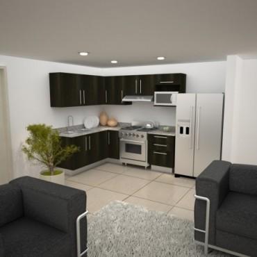 Mobiliario de Cocina Nova de Euromobilia, en L EUROMOBILIA nova Mo...